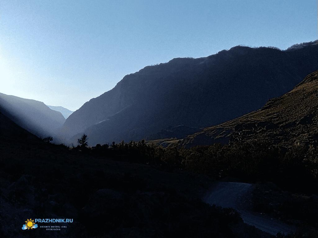 Долина реки Чулышман-9